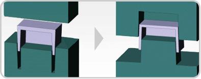 Rib vs. Core-Cavity
